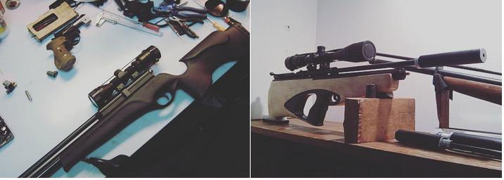 ремонт пистолета пневмата