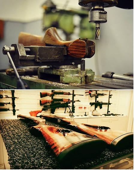 фото до и после ремонта пневматической винтовки pcp
