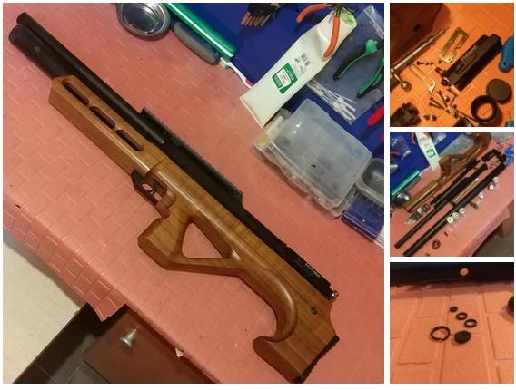 ремонт страйкбольного оружия