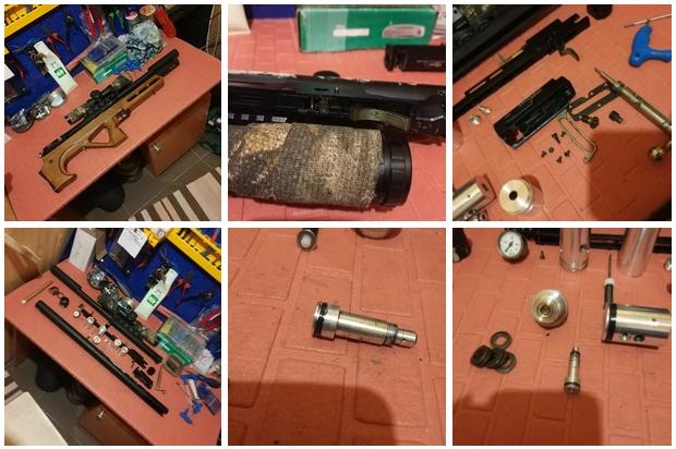 фото до и после ремонта страйкбольного оружия