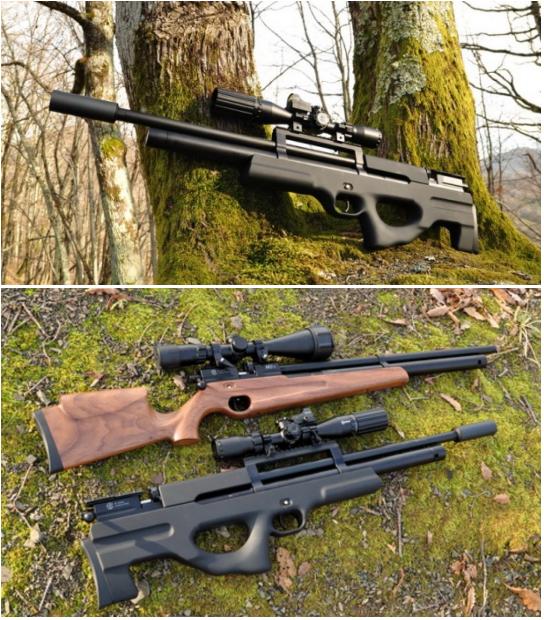 пневматические винтовки ataman