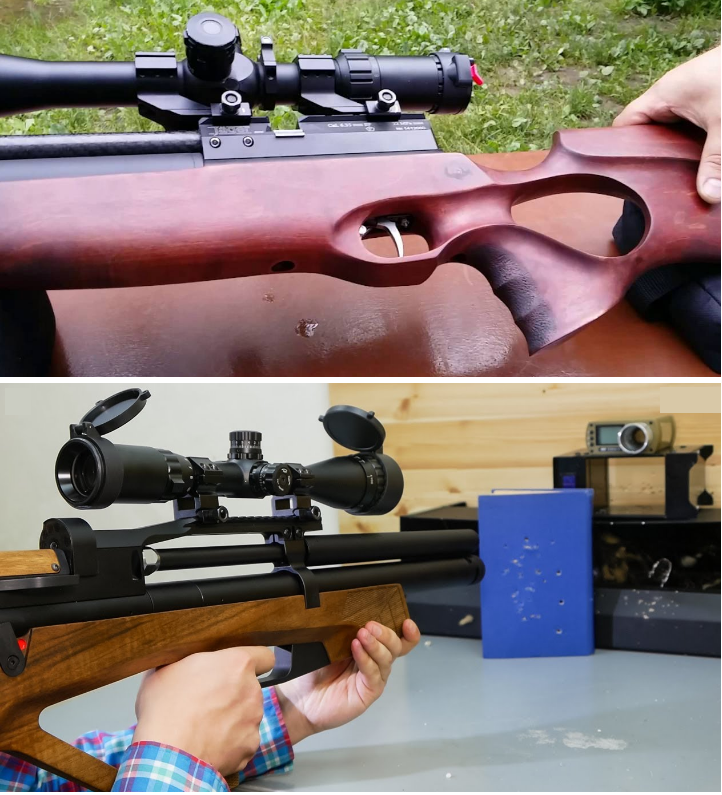 pcp винтовки jager