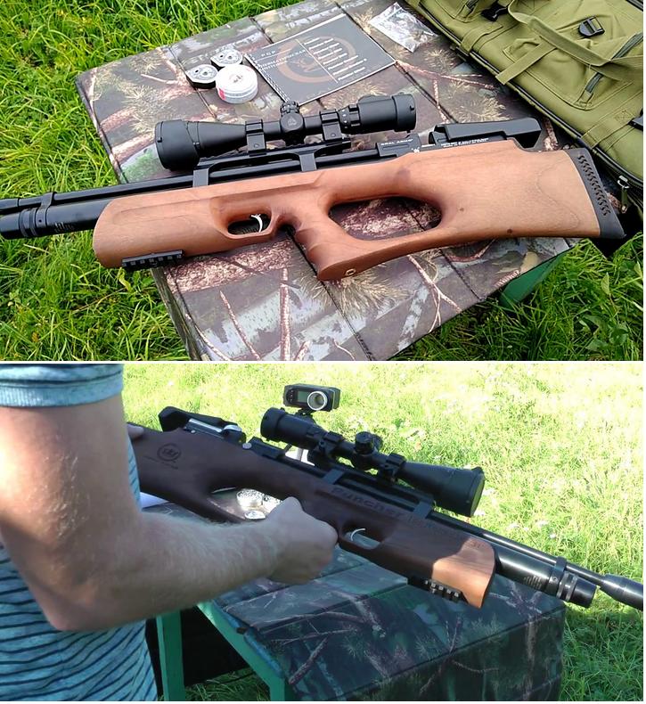 пневматические винтовки kral