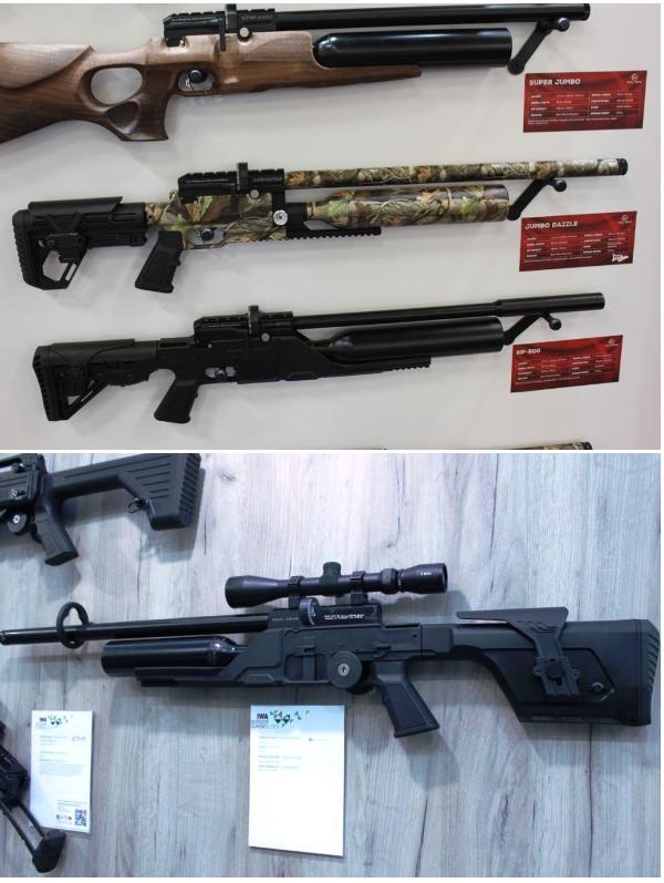 магазин пневматических винтовок kral