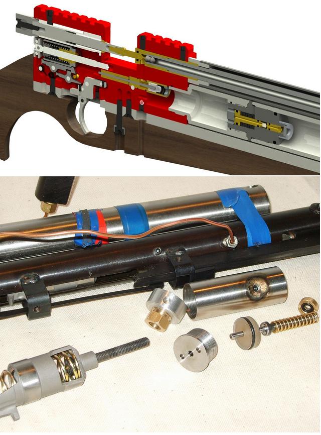 увеличение мощности пневматической pcp винтовки